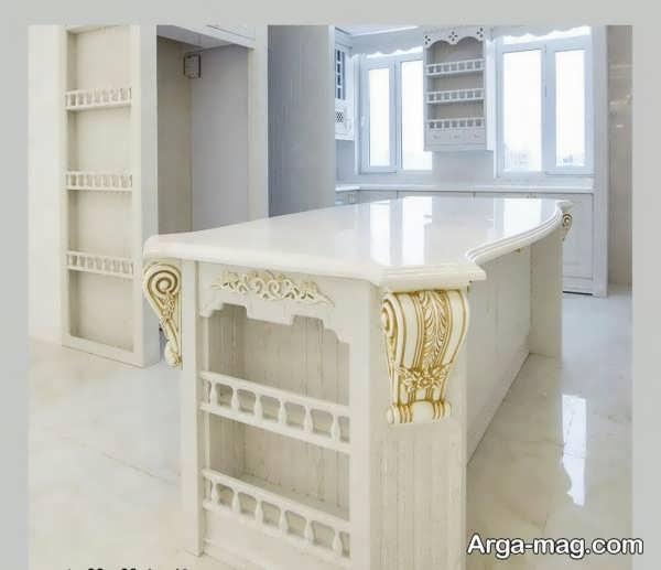 مدل لاکچری کابینت آشپزخانه