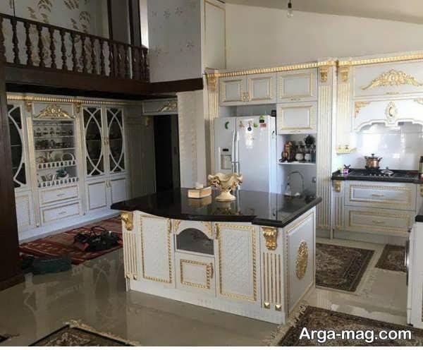 مدل زیبای کابینت آشپزخانه