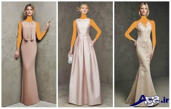 انواع متنوع و زیبا مدل لباس مجلسی 2016