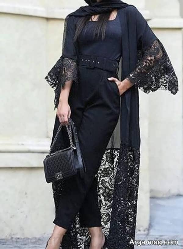 مدل مانتو گیپور بلند
