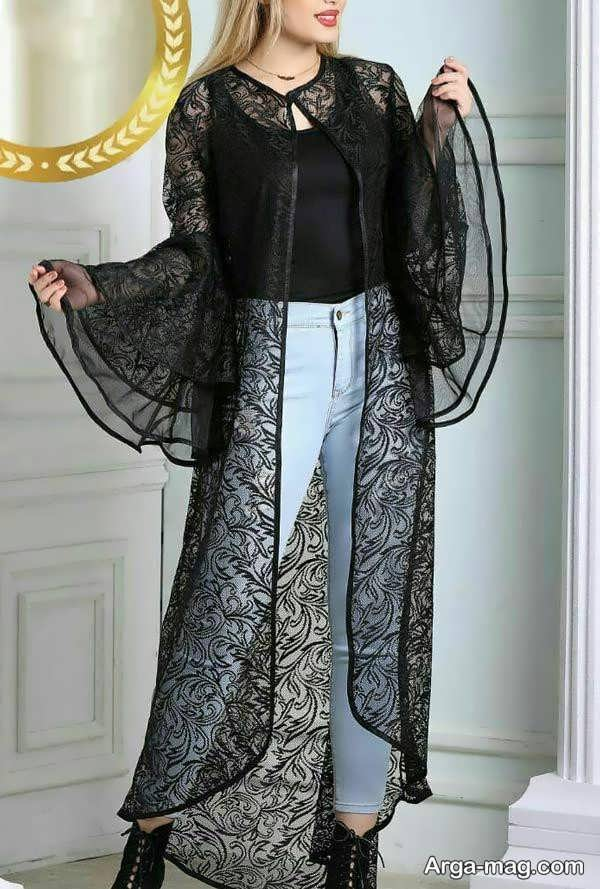 مدل مانتو گیپور زیبا