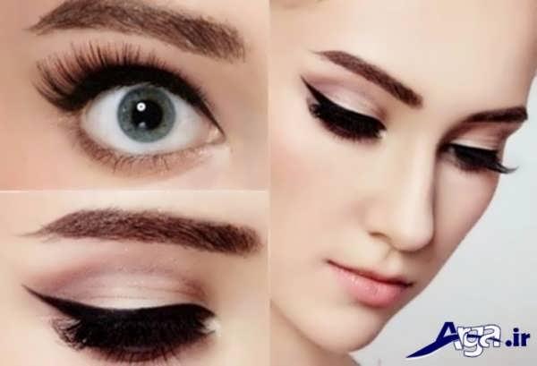 آرایش چشم ساده