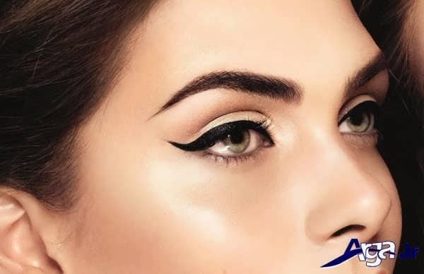 انواع مدل خط چشم دخترانه