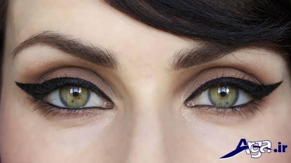 مدل های ساده خط چشم دخترانه