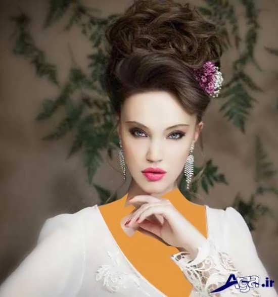 مدل شینیون جدید زیبا