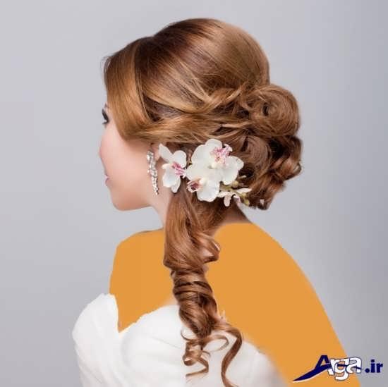 مدل شینیون جدید برای عروس