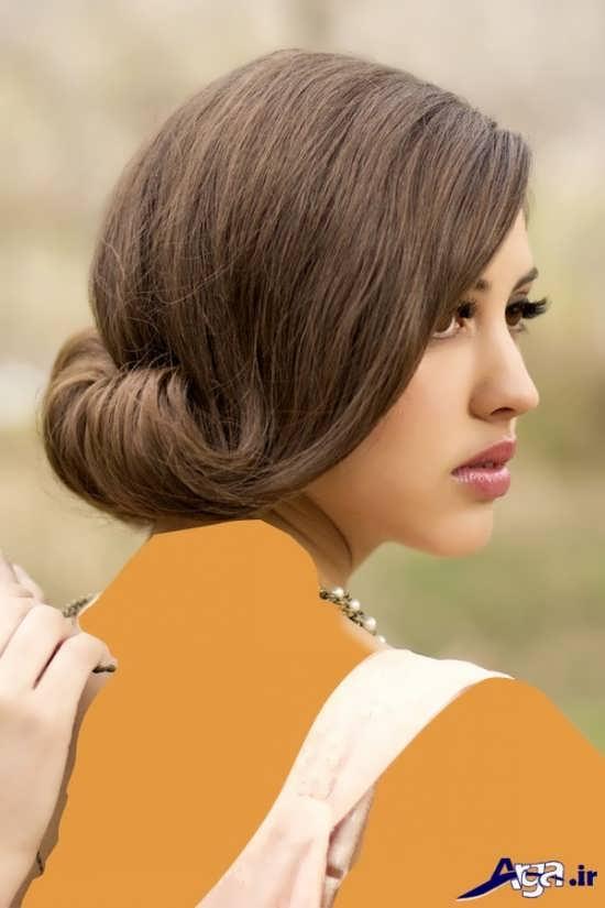مدل آرایش موی ساده
