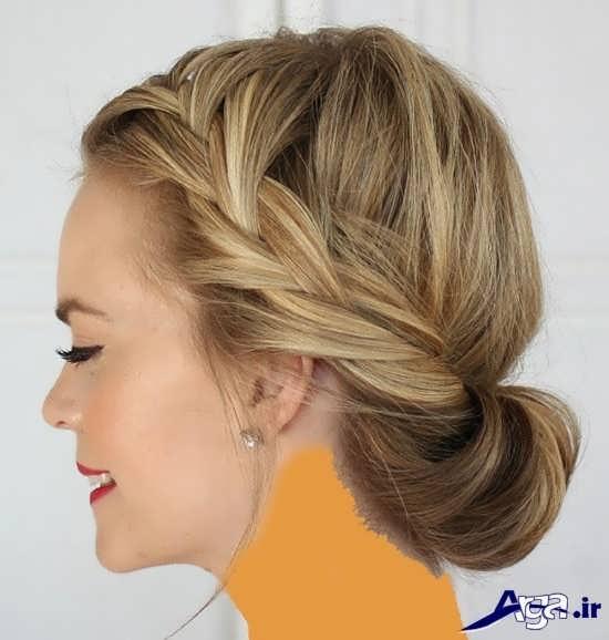 انواع مدل آرایش موی بسته ساده