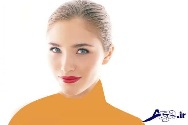 مدل میکاپ صورت و لب