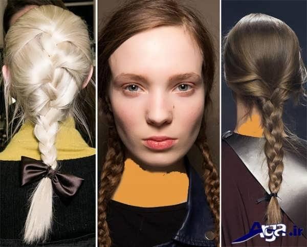 مدل بافت مو 2016 دخترانه