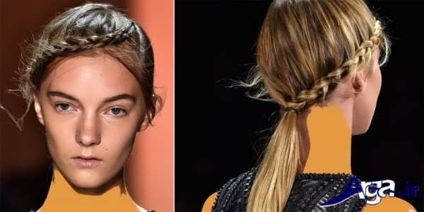 مدل بافت مو دخترانه جدید