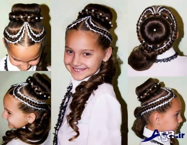 مدل بافت مو برای کودکان
