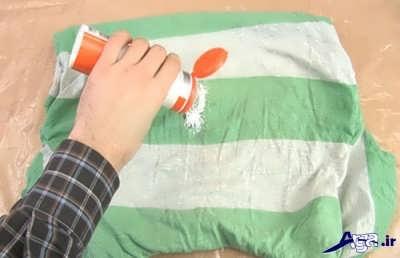 پاک کردن لکه روغن از لباس