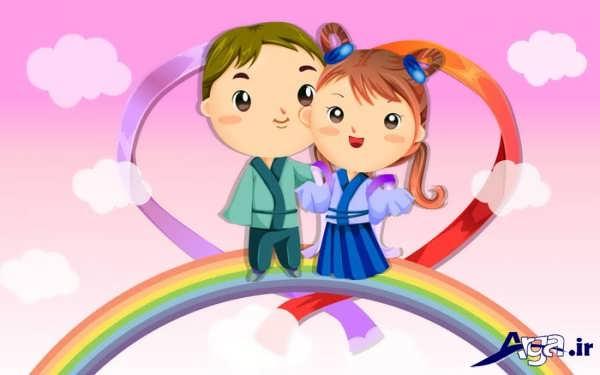 تصاویر انیمیشن عاشقانه
