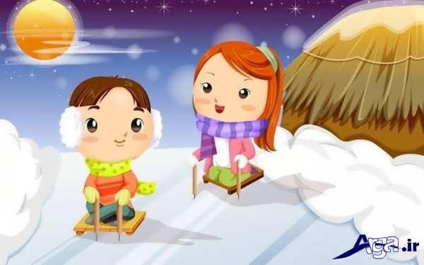 عکس انیمیشن دختر و پسر عاشق