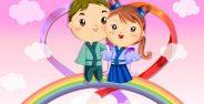 عکس انیمیشن عاشقانه