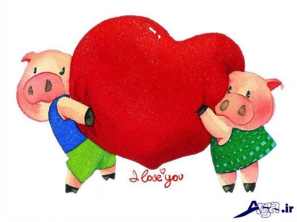 عکس انیمیشن رمانتیک