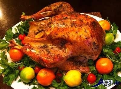 آموزش پخت مرغ کنتاکی با فر در منزل