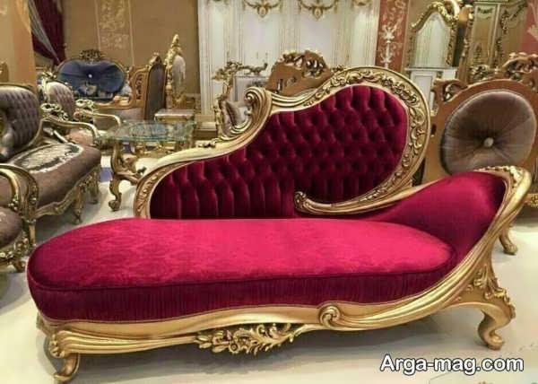 مدل قشنگ مبل استیل شزلون