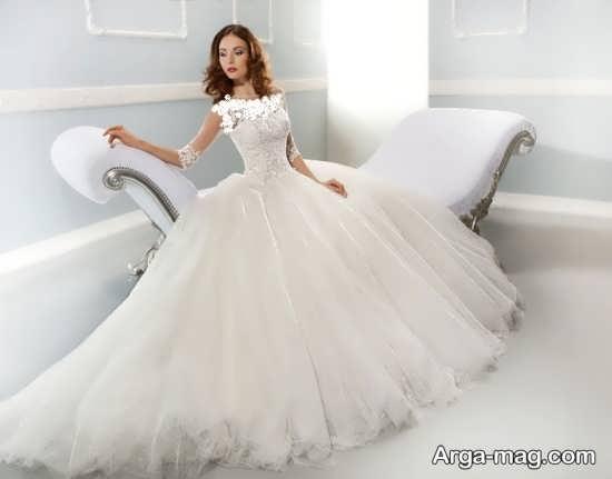 مدل لباس عروسی اسکارلت