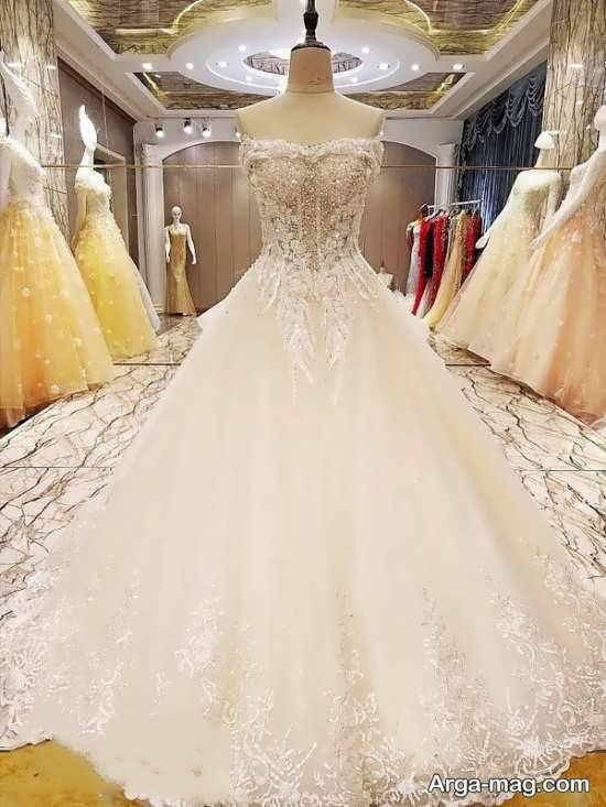 لباس عروس اسکارلتی زیبا