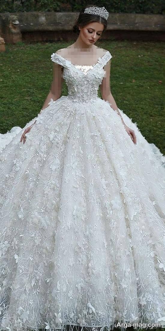 لباس عروسی اسکارلت