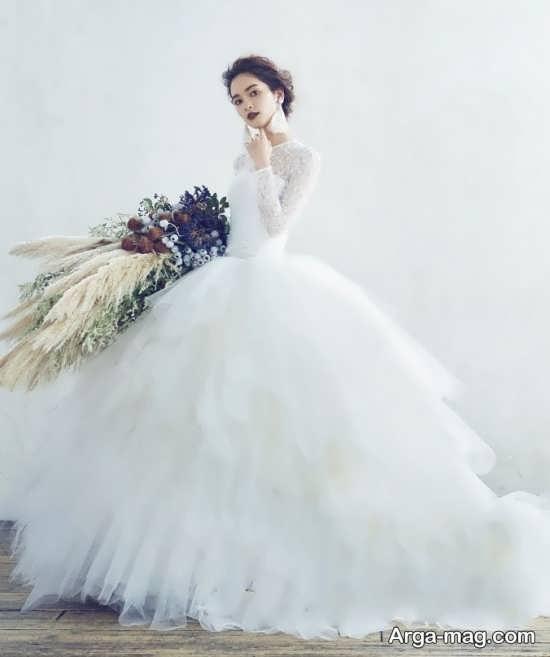 لباس عروس اسکارلتی