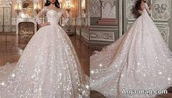 لباس عروس اسکارلت پفی