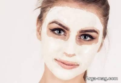 ماسک برای شفافیت و جوانی پوست