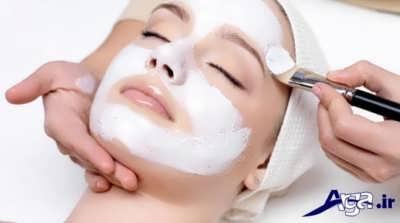 انواع ماسک نشاسته برای با خاشیت شفاف کنندگی پوست
