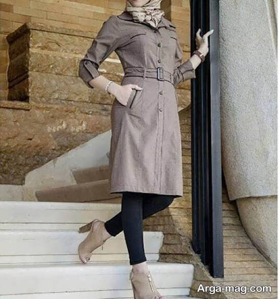 مدل مانتو دانشجویی جدید با انواع طرح های زیبا و جذاب