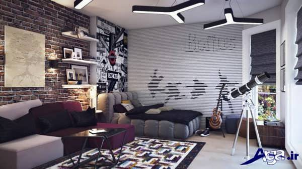 دکوراسیون زیبای اتاق نوجوان