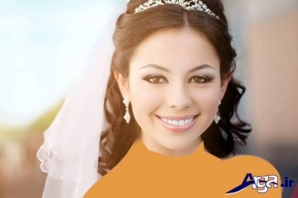 مدل آرایش ساده 2016 عروس