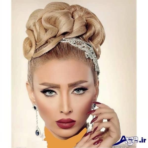 مدل مو و آرایش عروس ایرانی 2016