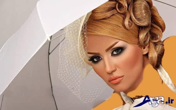 مدل های متنوع آرایش صورت عروس