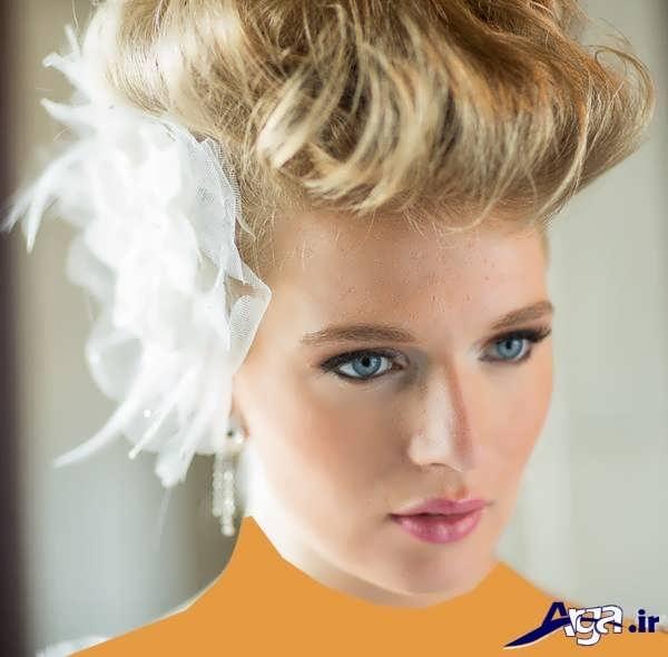 مدل آرایش عروس لابت