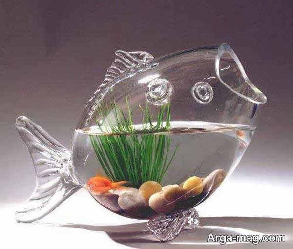 ایده های ساده برای دیزاین تنگ ماهی