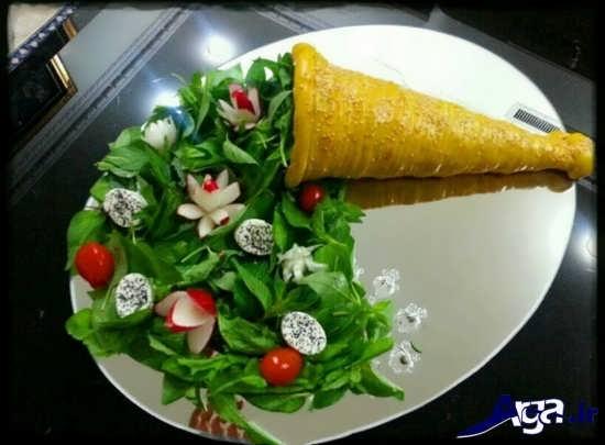 سبزی آرایی مدرن