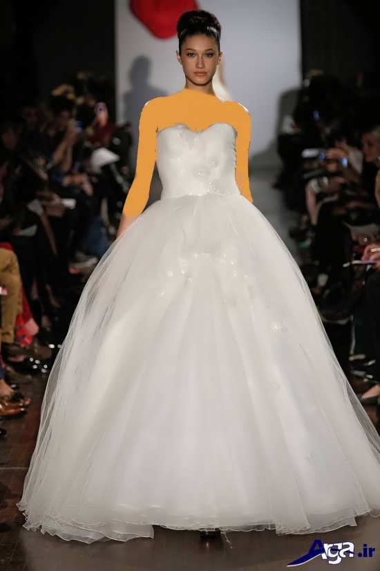 مدل های متنوع لباس عروس اسکالرت