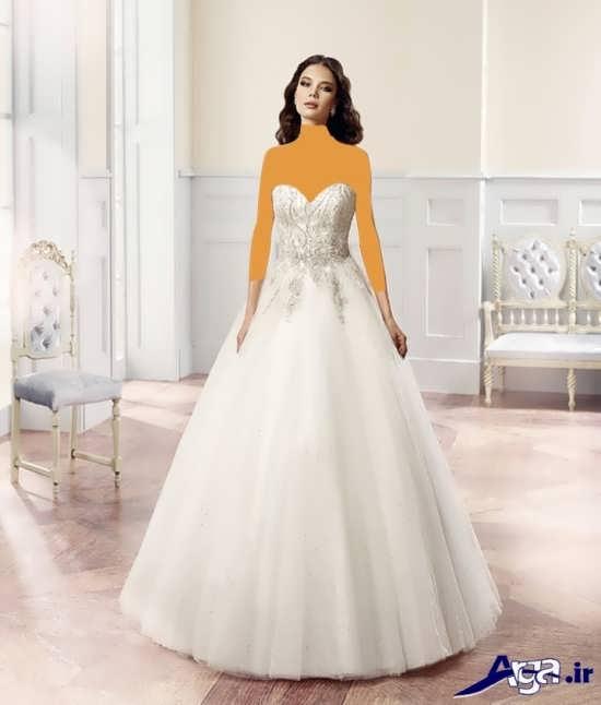 لباس عروس با مدل های متنوع اسکالرت