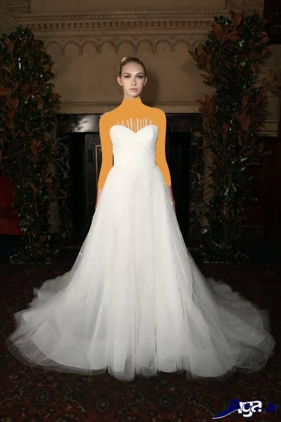 لباس عروس توری