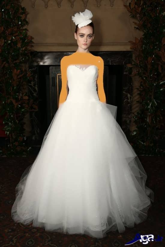 انواع مدل لباس عروس اسکالرت