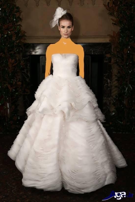 انواع مدل لباس عروس اسکالرت زیبا