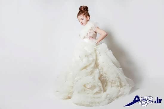 لباس عروس دخترانه شیک و زیبا