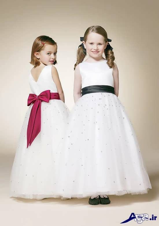لباس عروس دخترانه شیک
