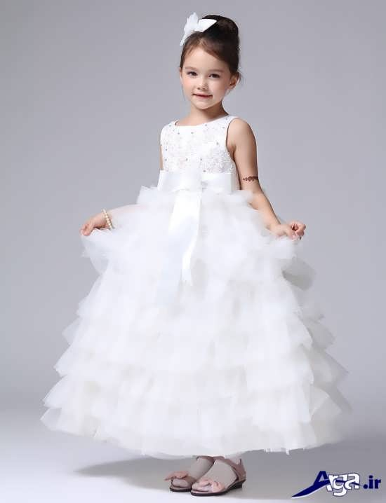 لباس عروس دخترانه بچه گانه