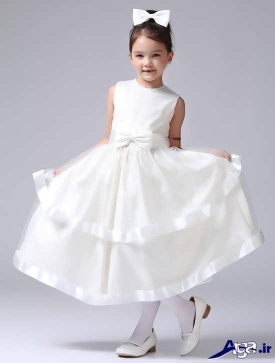 لباس عروس بچه گانه زیبا