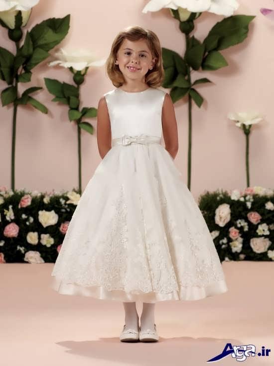 مدل لباس عروس بچه گانه شیک و مدرن