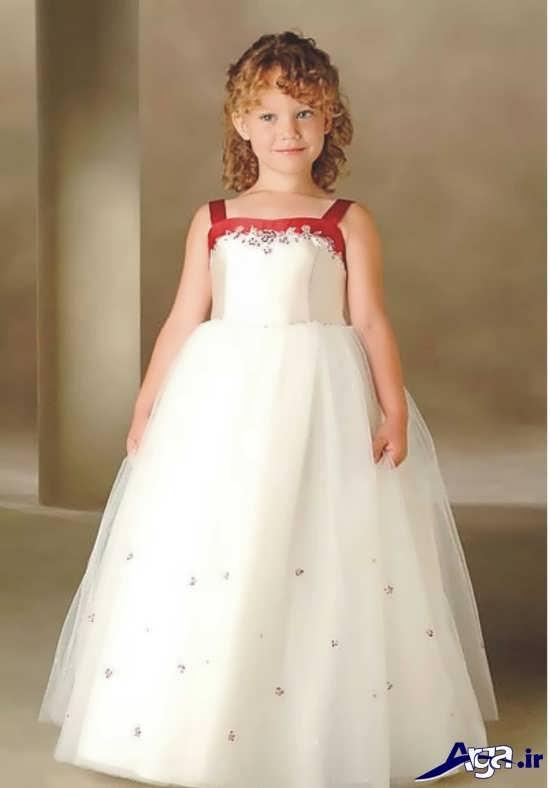 مدل های بانمک و زیبا لباس عروس بچه گانه دخترانه