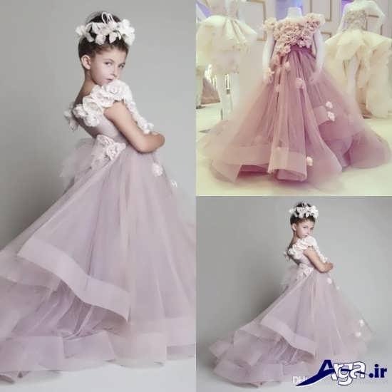 لباس عروس شیک و زیبا بچه گانه